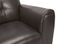 Affordable top quality leather couch from Violino.