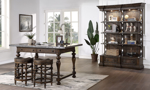 Big Sky Brown dinning collection from Home Insights Furniture.