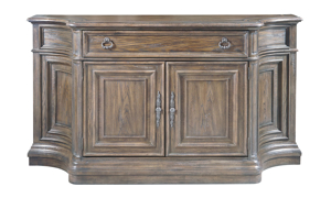"""72"""" wide wooden credenza from Hone Insights Furniture."""