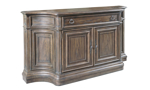 Finish the Big Sky Dinning Collection with the credenza from Home Insights Furniture.