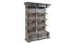 """84"""" tall etagere to put all of your dining room extras on display."""