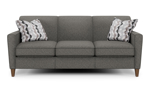 """80"""" wide sofa from flexsteel, the Digby couch is made of hardwood frames."""