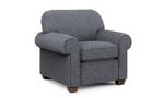 Contemporary grey accent chair from Flexsteel.