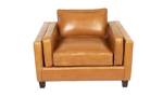 Rocky Mountain Leather Taos Butterscotch Armchair