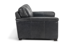 Handcrafted Italian leather chair built to last years in your home.