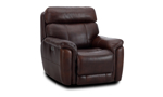 """38"""" wide power recliner made of hardwood frames and sinuous spring."""
