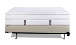 Made with a sustainable steel wrapped coil support system, the Heavenly mattress provides lots of support.