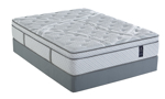 Euro top hybrid mattress is made in the USA and comes with a warranty.