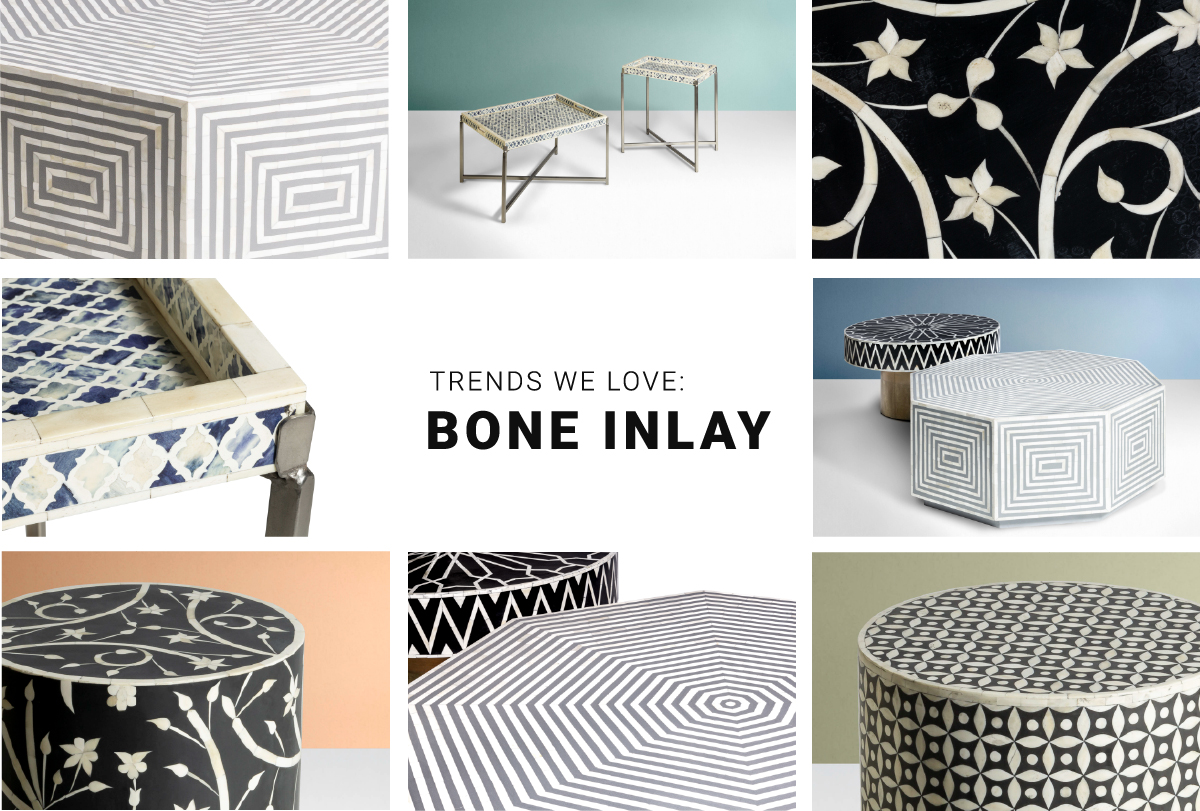 What is bone inlay?
