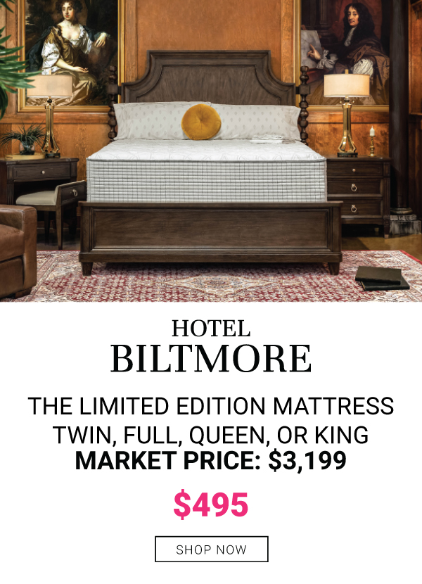 "RESTONIC 13"" BILTMORE TIGHT TOP HYBRID MATTRESSES"