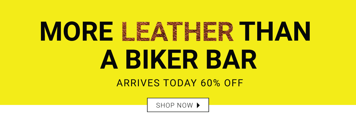 More Leather Than a Biker Bar