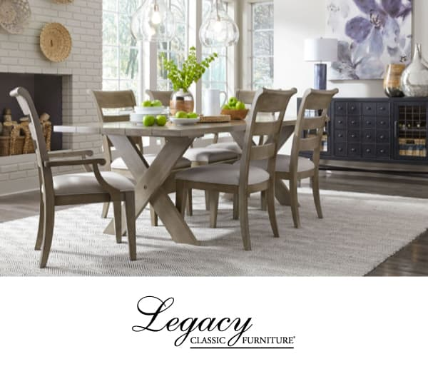 Complete 7-Piece Dining Room Table, 4 side chairs & 2 arm chairs $999