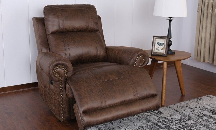 TRADITIONAL WALL AWAY ROLL ARM POWER RECLINER