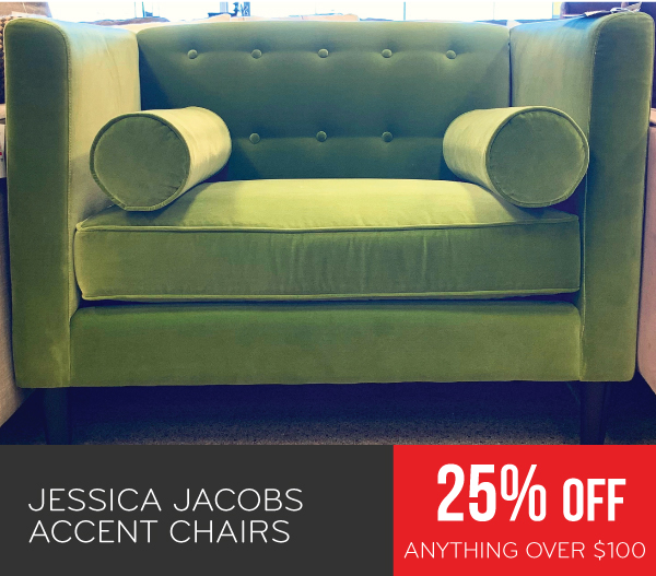Jessica Jacobs Accent Chairs 25% Off Anything Over $100