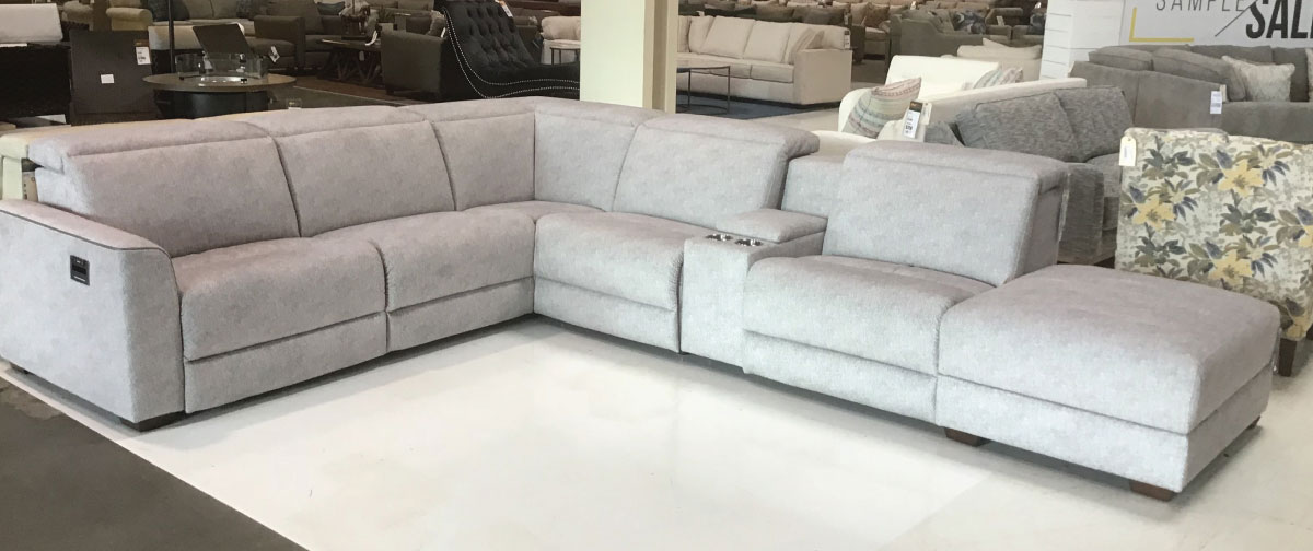 Nice Link Furniture Sectional and Chair