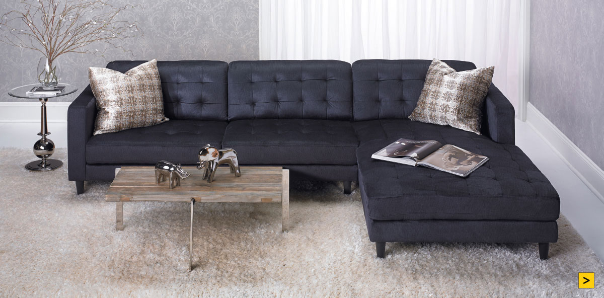 Contemporary Tufted Sofa 699