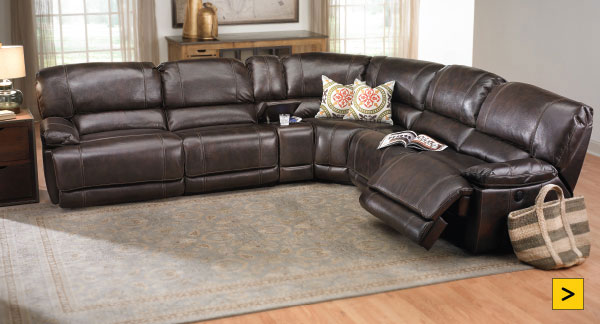 Jamison Power Reclining Storage Sectional