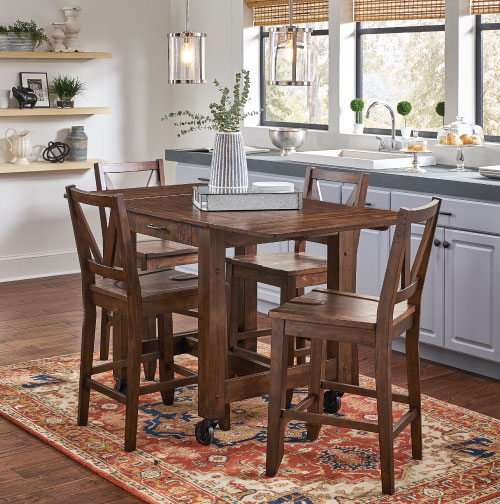 Dinette Closeout $799 Brown Set