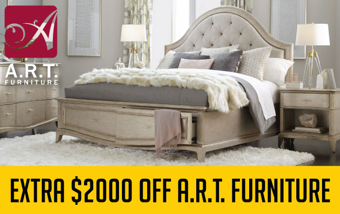 Extra $2000 Off ART Furniture