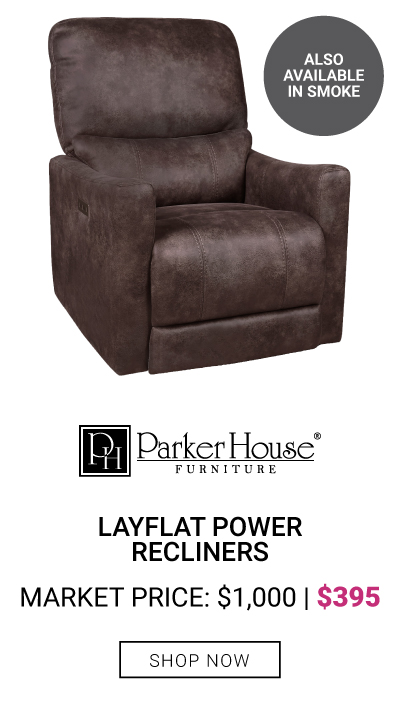 LayFlat Power Recliner $395