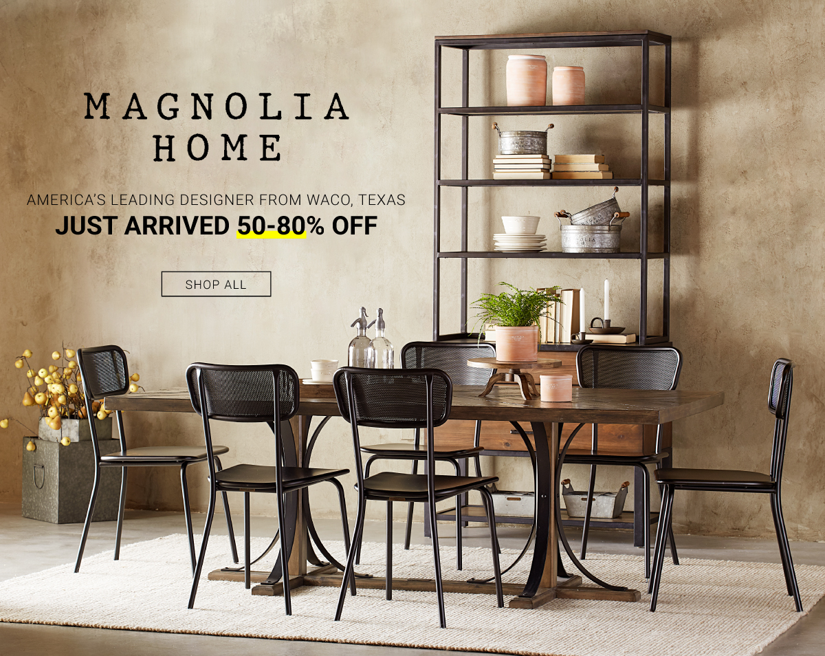 Magnolia Home Just Arrived 50-80% Off