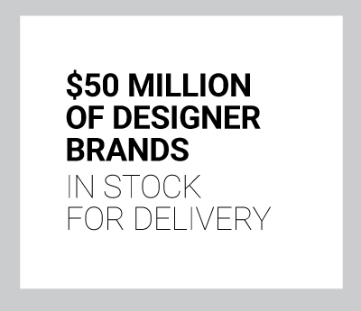 $50 Million of Designer Brands In Stock for Delivery