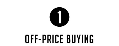 Off-Price Buying