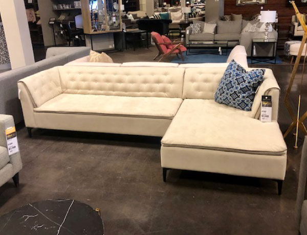 Jonathan Louis Sectional Showroom Chicago The Dump