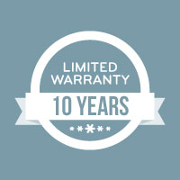Limited Warranty 10 Years