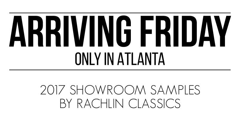 Rachlin Classics Arriving Friday in Atlanta