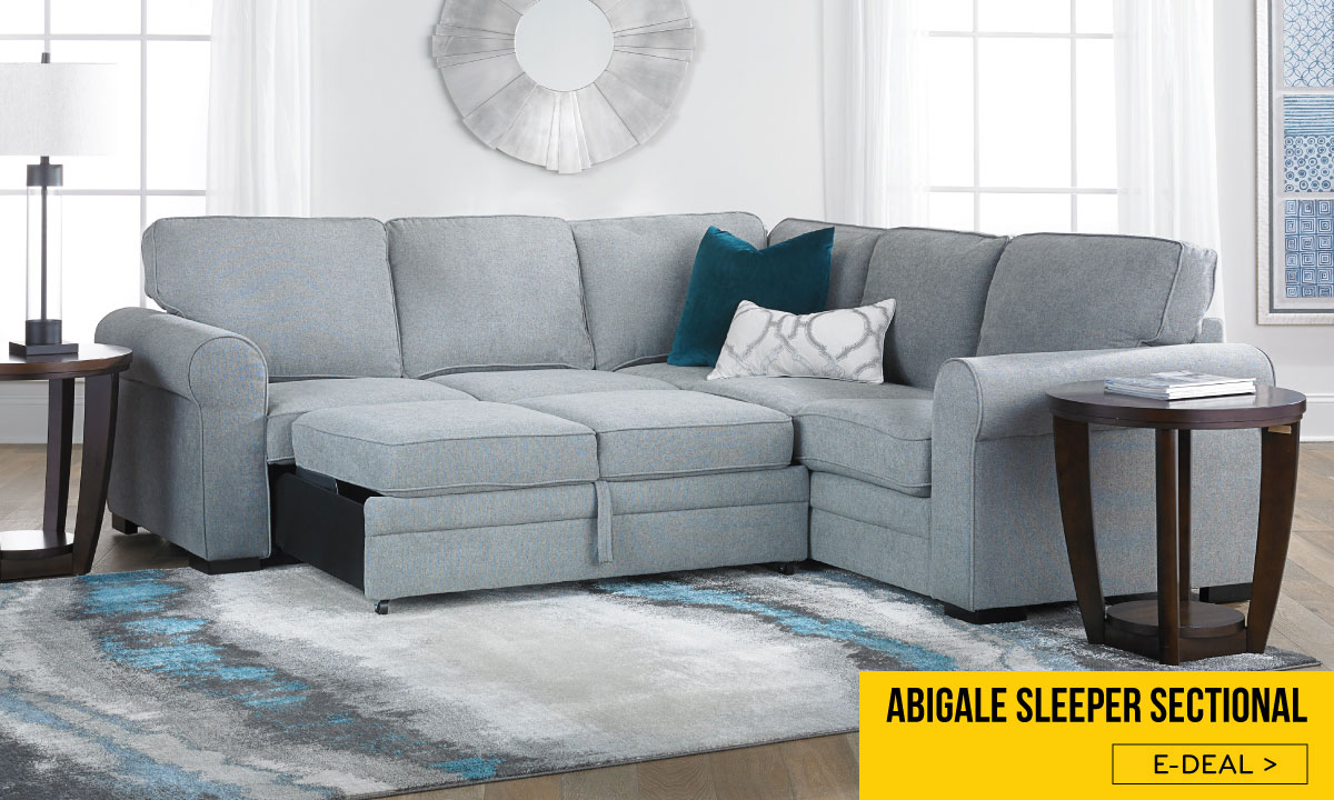 Abigale Sleeper Sectional